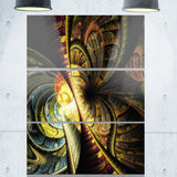 fractal illustration abstract digital canvas art print PT6754