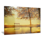 golden planet landscape photography canvas print PT6811