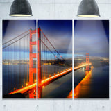 golden gate bridge landscape photo canvas print PT6845