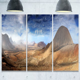 mountain scenery panorama landscape photo canvas print PT6877