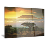 mount kilimanjaro photography landscape canvas print PT6903