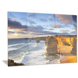 twelve apostles australia seascape canvas art print PT6920