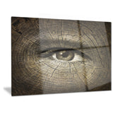 aging eyes abstract canvas art print PT6963
