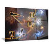 fabric of space and time digital canvas art print PT6985