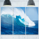 sea returns photo seascape canvas print PT6987