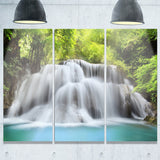 huai mae kamin waterfall photography canvas print PT7063