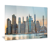 new york city skyline photography canvas print PT7087