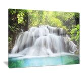 huai mae kamin waterfall photo canvas print PT7094