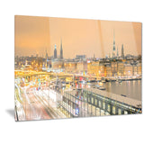stockholm cityscape panorama cityscape photo canvas print PT7224