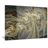 metallic fabric pattern digital art canvas print PT7256