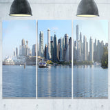 vancouver bc skyline panorama cityscape photo canvas print PT7357