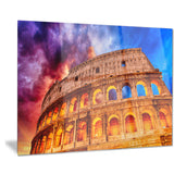 colosseum rome italy monumental photo canvas print PT7550