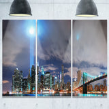 manhattan panorama cityscape photo canvas print PT7687