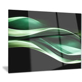 glittering green pattern abstract digital art canvas print PT7713