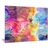seamless colors abstract digital art canvas print PT7861