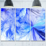 christmas fireworks blue digital art canvas print PT7932