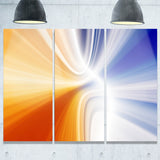 glowing colored lines abstract digital art canvas print PT8094