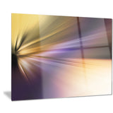rays of speed purple brown abstract digital canvas print PT8137