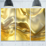 golden cloth texture abstract digital art canvas print PT8277