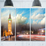 big ben from westminster bridge cityscape photo canvas print PT8302