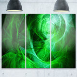 green stormy sky texture abstract digital art canvas print PT8325