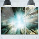 light from sky abstract digital art canvas print PT8341