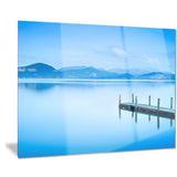 beautiful pier in sea seascape photo canvas print PT8389