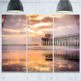 cocoa beach florida landscape photo canvas art print PT8404