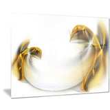 abstract gold texture pattern abstract digital art canvas print PT8406