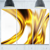 bright gold texture pattern abstract digital art canvas print PT8408