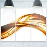brown gold texture pattern abstract digital art canvas print PT8415