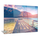 summer morning in bohinj lake landscape photo canvas print PT8627