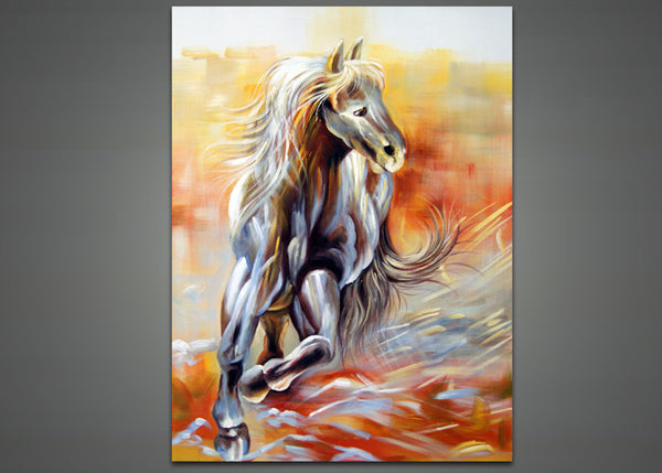 Modern Horse Oil Painting 1034 - 30x40in