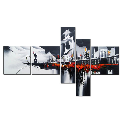 New York City Multi Panels Art - 63x33in
