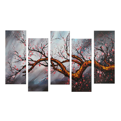 Modern Tree Canvas Art Painting 1084 60x32in