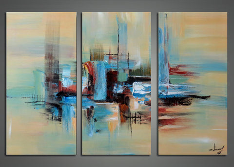 Every Direction- Abstract Oil Painting 1143 - 36x32in