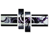 Modern Canvas Abstract Art 207 - 63x30in
