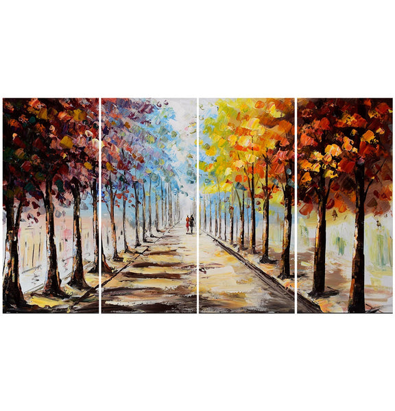 Landscape Forest Lets Go For A Stroll 48x28 In