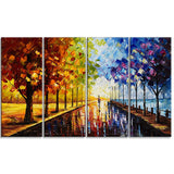 Landscape Trees A Walk Through Color - 48x28