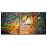 Modern Tree Oil Painting 1 Panel 374s - 32x16in