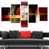 Large Contemporary Painting 379 - 60x32in