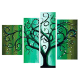 Modern Tree Wall Art 397 - 47,2x36in