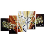 Floral Oil Painting 599 - 54x36in