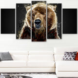 Brown Bear - Animal Canvas Print - 2301