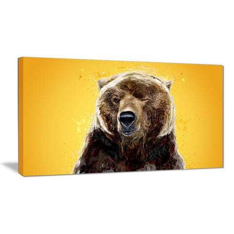 Brown Bear - Animal Canvas Print PT2303