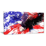American Bald Eagle - Animal Canvas Print PT2313