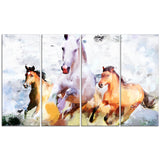 Galloping Together- Animal Canvas Print PT2319