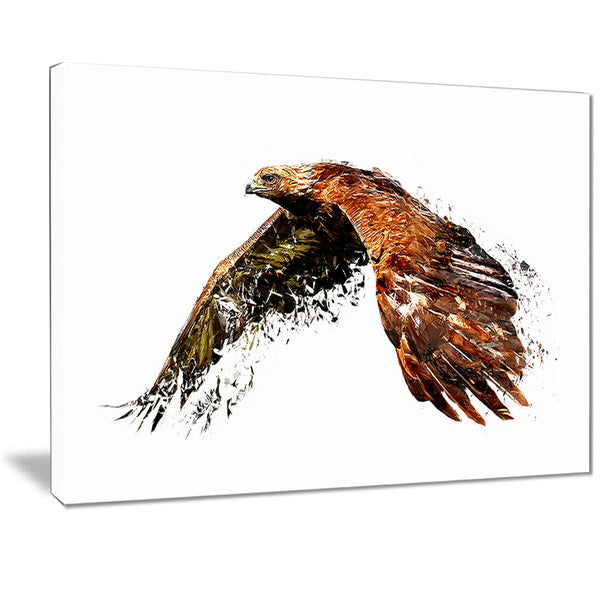 Soaring Eagle - Animal Canvas Print PT2321