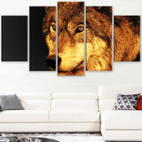 Eyes of a Predator- Animal Canvas Print PT2323