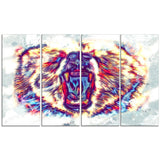 Bold Bear- Animal Canvas Print PT2355